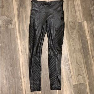 Faux Spanx Leather Moro Leggings